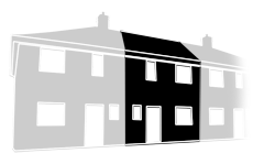 Guttering, fascias and soffits costs for a terrace house