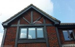 UPVC colour coated bargeboards