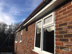 new UPVC fascias soffits guttering Bearsted