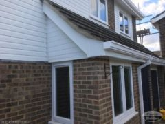 UPVC guttering, fascias and soffits