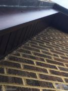 Rosewood bargeboard and soffit
