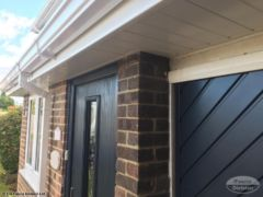 UPVC fascias and guttering installation
