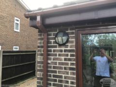 UPVC rosewood fascias and soffits