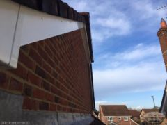white UPVC bargeboards and soffits Bearsted